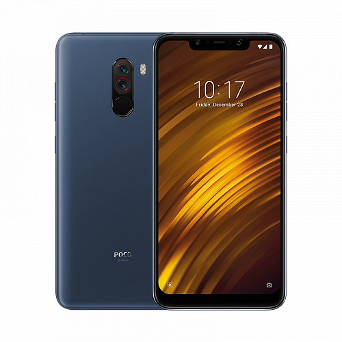 купить Смартфон Pocophone F1 256GB/8GB Blue (Синий) в Архангельске