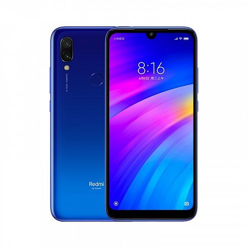 купить Смартфон Xiaomi Redmi 7 64GB/3GB Blue (Синий) в Архангельске